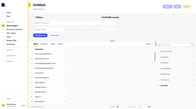 Search-Engine-Dataprovider-com
