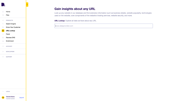 URL-Lookup-Dataprovider-com